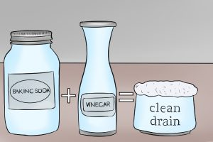 unclog a drain baking soda - Clean Bathroom Sink Drain