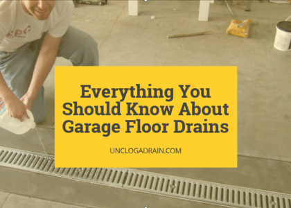 garage floor drains