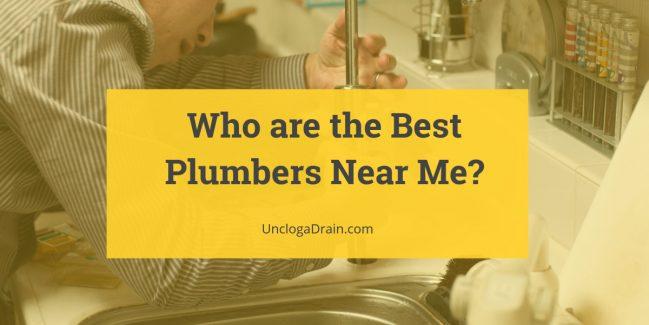 Plumbing Emergencies: Who are the Best Plumbers Near Me?