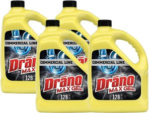 Drano Max Gel Commercial Line Clog Remover