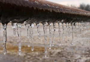 Water Pipe is Freezing