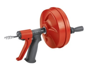 Ridgid Power Spin Plumbing Auger with AUTOFEED